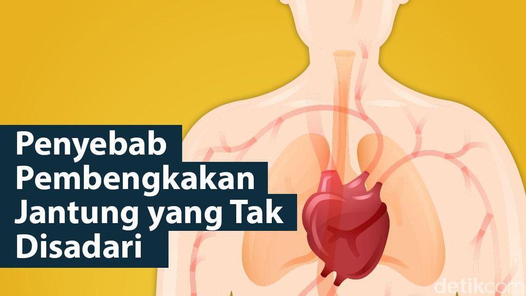Sering Tak Disadari, 12 Hal Ini Bisa Picu Pembengkakan Jantung