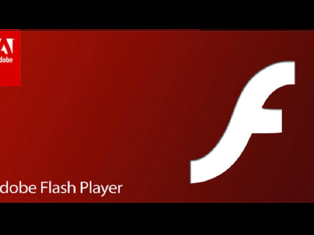 Pengumuman, Pengguna Komputer Disarankan Hapus Flash Player