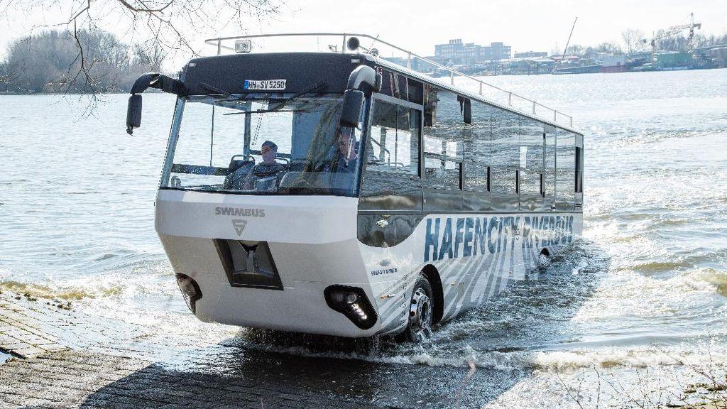 Melihat Bus Amfibi yang Akan Wara-wiri di Semarang
