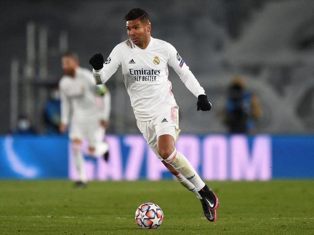 Casemiro Tulang Punggungnya Real Madrid