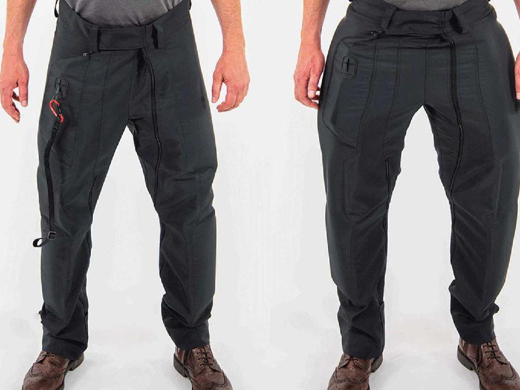 Inovasi Celana Buat Bikers, Kalau Jatuh Airbag Ngembang!