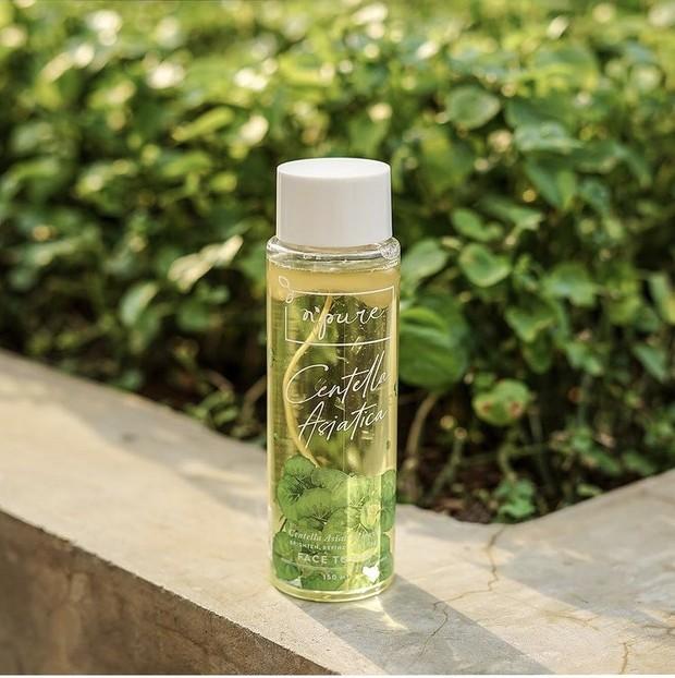 N'pure Centella Asiatica toner yang cocok untuk acne prone skin.