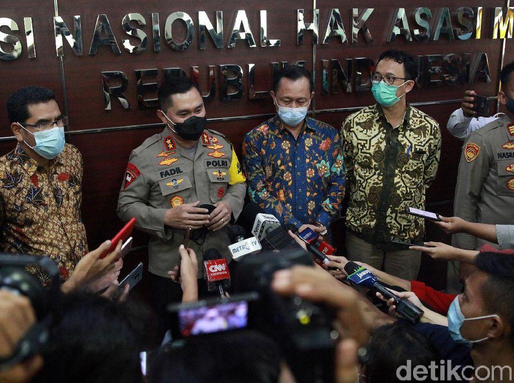 Komnas HAM Paparkan 3 Poin Keterangan Kapolda soal penembakan FPI