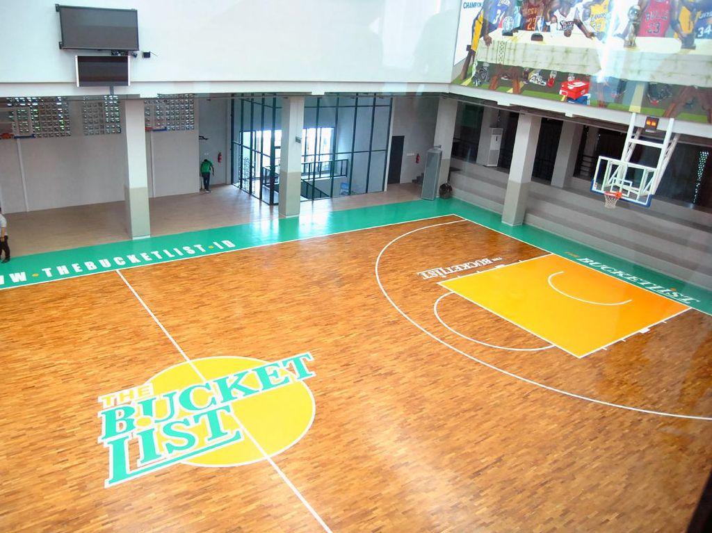 Mengenal Lapangan Bola Basket Lengkap dengan Ukurannya