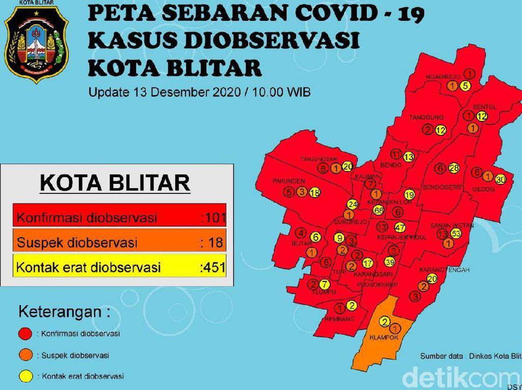 Kota Blitar Zona Merah, Wali Kota Santoso Malah ke Yogyakarta