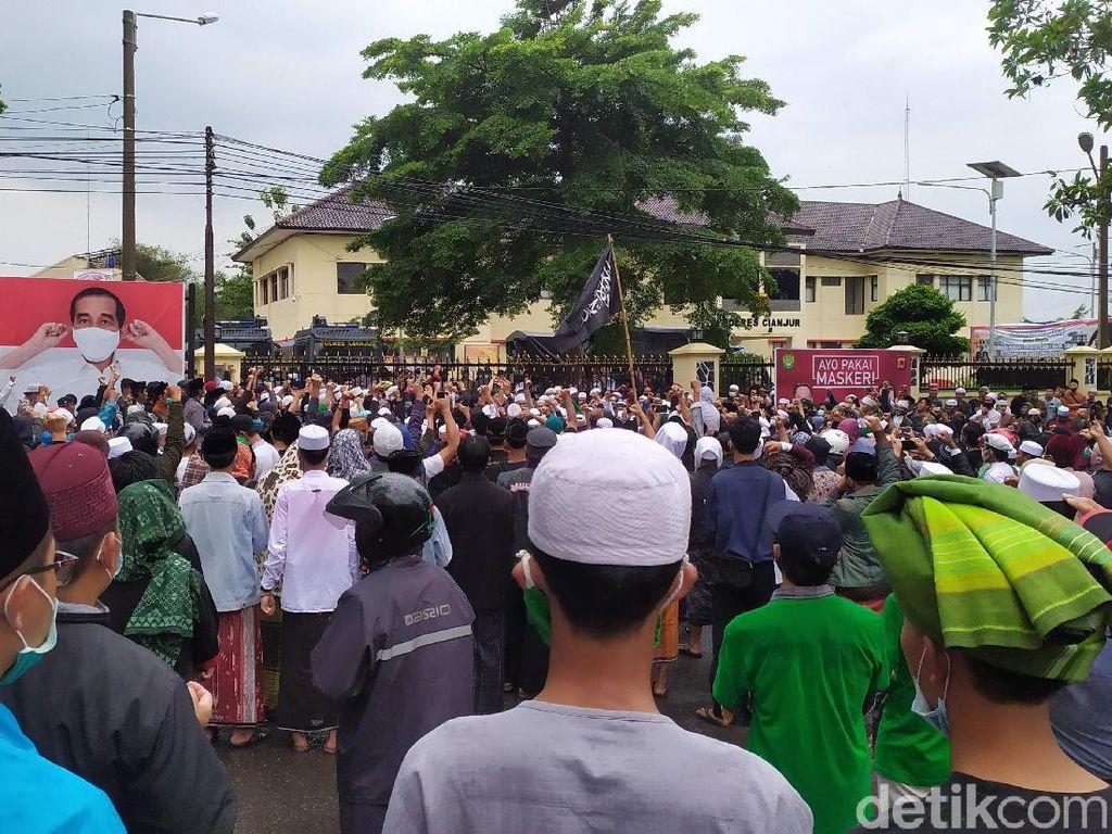 Aksi Bela Rizieq Langgar Prokes, FPI Cianjur: Jangan Hanya Kami Diproses