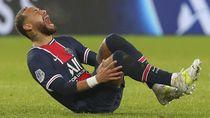 Neymar Nangis karena Cedera Pergelangan Kaki, Ini Waktu Pemulihannya