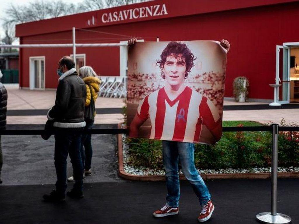 Rumah Pahlawan Italia di Piala Dunia 1982 Dibobol Maling Saat Pemakamannya