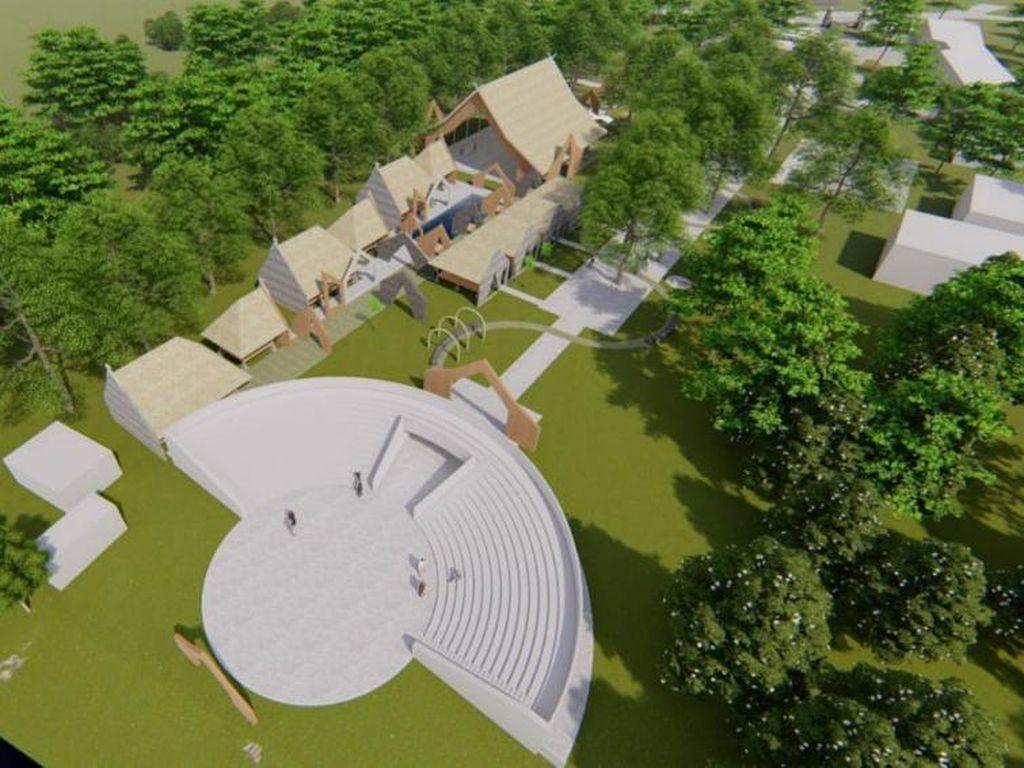 Foto: Seperti Ini Pusat Kebudayaan Ciamis di Masa Depan