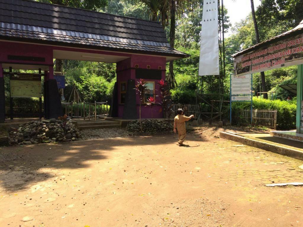 Penampakan Calon Pusat Budaya Kawasan Situs Ciung Wanara Ciamis