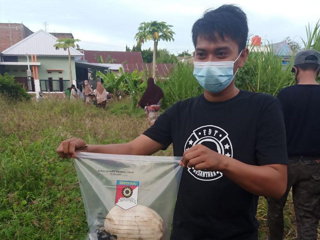 Pria di Sulsel Dikejutkan Tengkorak Manusia Saat Cari Rumput untuk Ternak