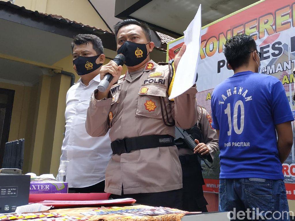 Polisi Gerebek Konter di Pacitan yang Jual Kartu Perdana Teregistrasi