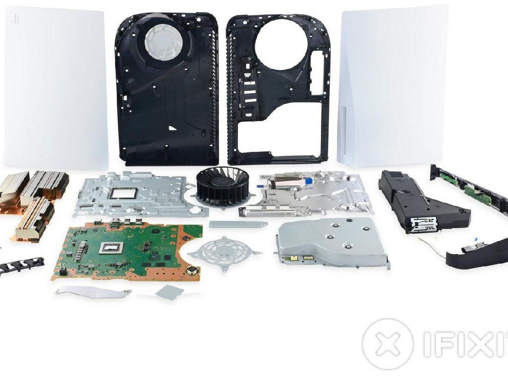 PS5 dan DualSense Dibongkar, Seperti Apa Jeroannya?