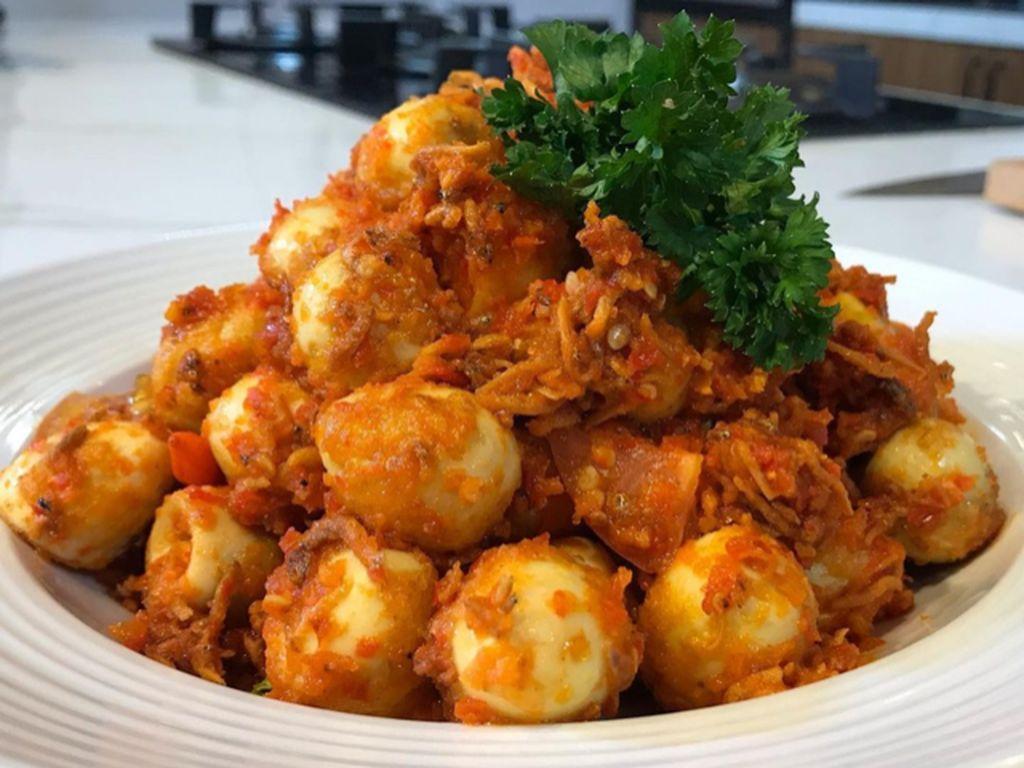 Menu Harian Ramadhan ke-17: Sambal Telur Puyuh dan Getuk Buat Buka Puasa