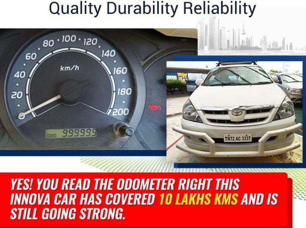 Capek Banget, Toyota Innova Ini Sudah Tempuh 1 Juta KM