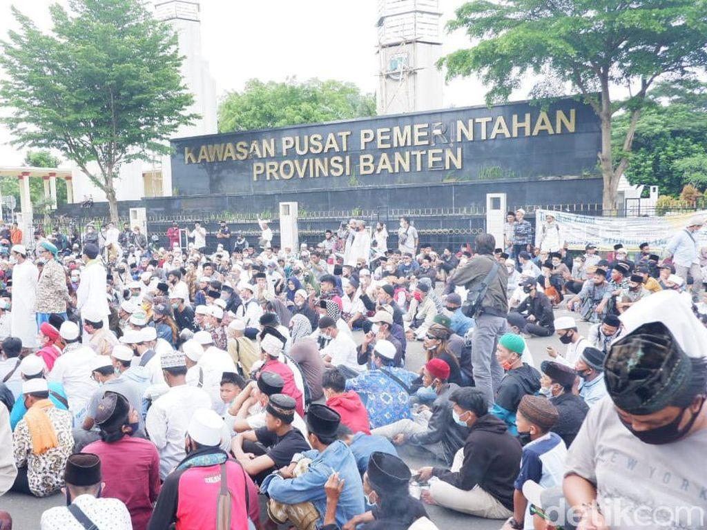 Respons Polda Banten soal Kerumunan Massa Habib Rizieq