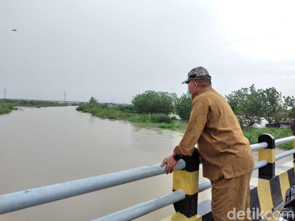 13 Desa di Kecamatan Cerme Terdampak Luapan Kali Lamong Gresik
