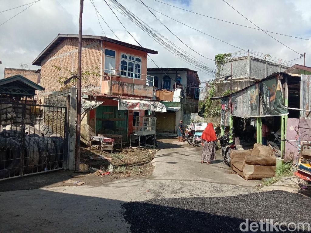 Banjir di Medan Maimun Surut, Aktivitas Warga Kembali Normal