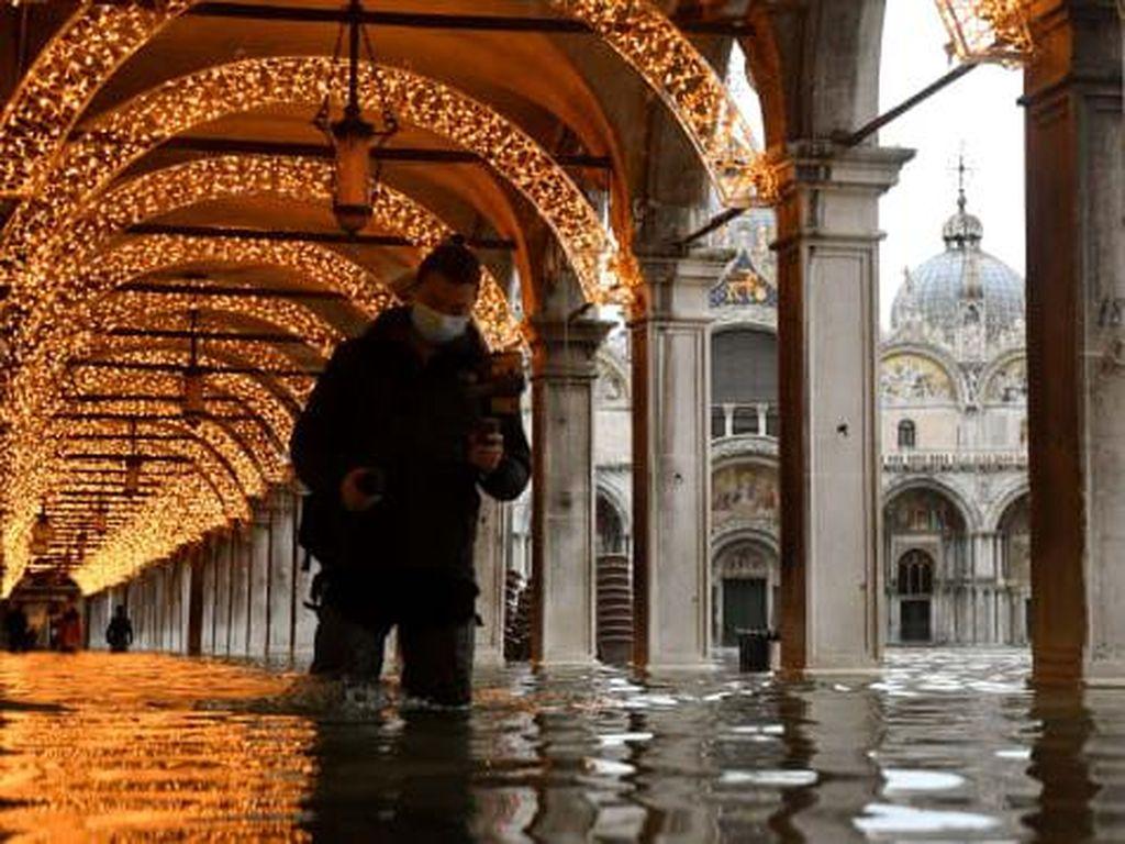 Venesia Tenggelam Lagi, Tanggul Anti-banjirnya Gagal?