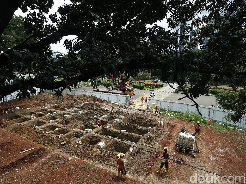 Gegara Pendemi, Pembangunan MRT Jakarta Fase 2 Terancam Mundur