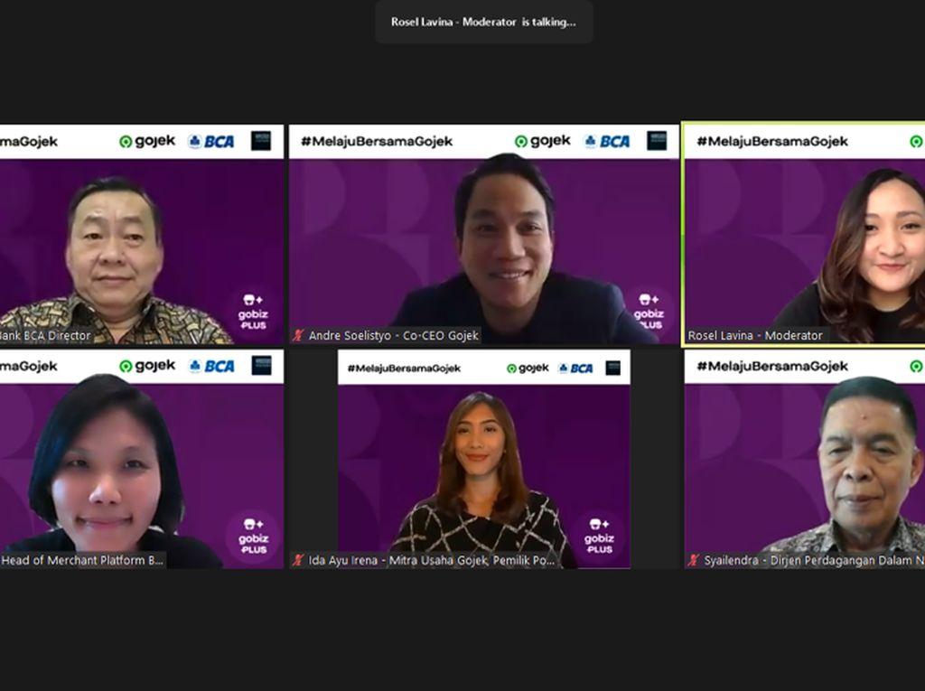 Genjot Daya Saing UMKM, Gojek & BCA Kenalkan GoBiz PLUS, Ini Fiturnya