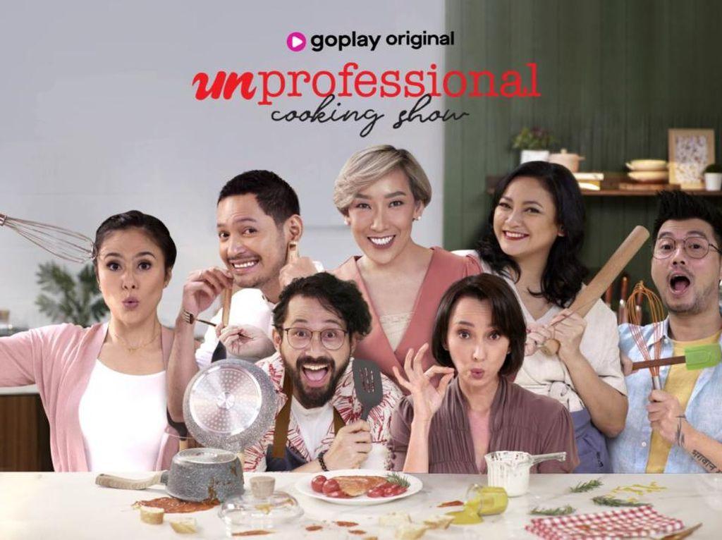GoPlay Punya Reality Show Baru Unprofessional Cooking Show