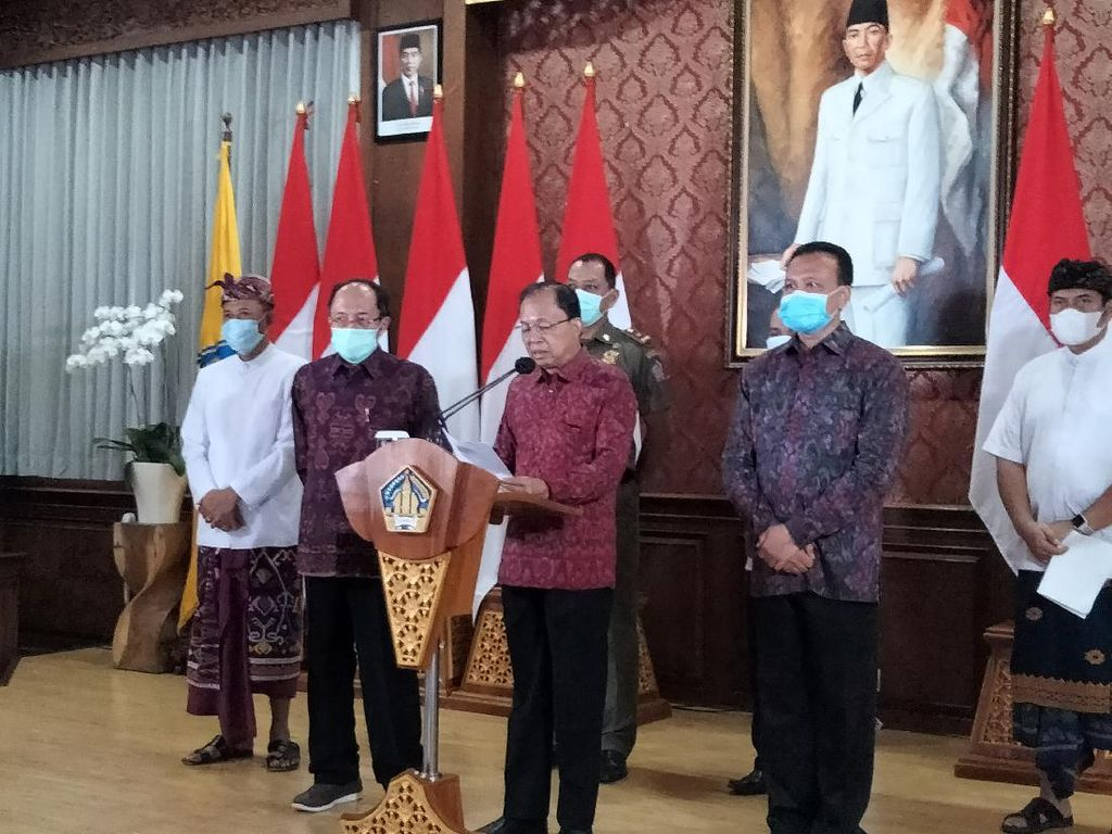 Pemprov Bali Larang Pesta Perayaan Malam Tahun Baru 2021