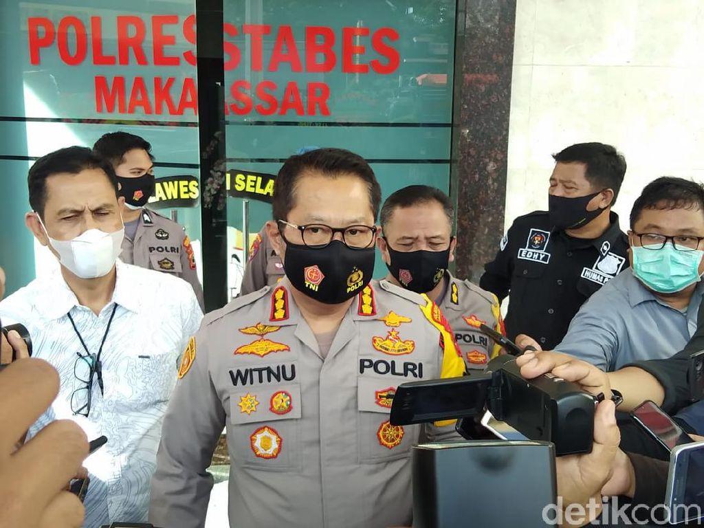 Polisi Temukan Sidik Jari Diduga Pelempar Molotov ke Pos Polantas di Makassar