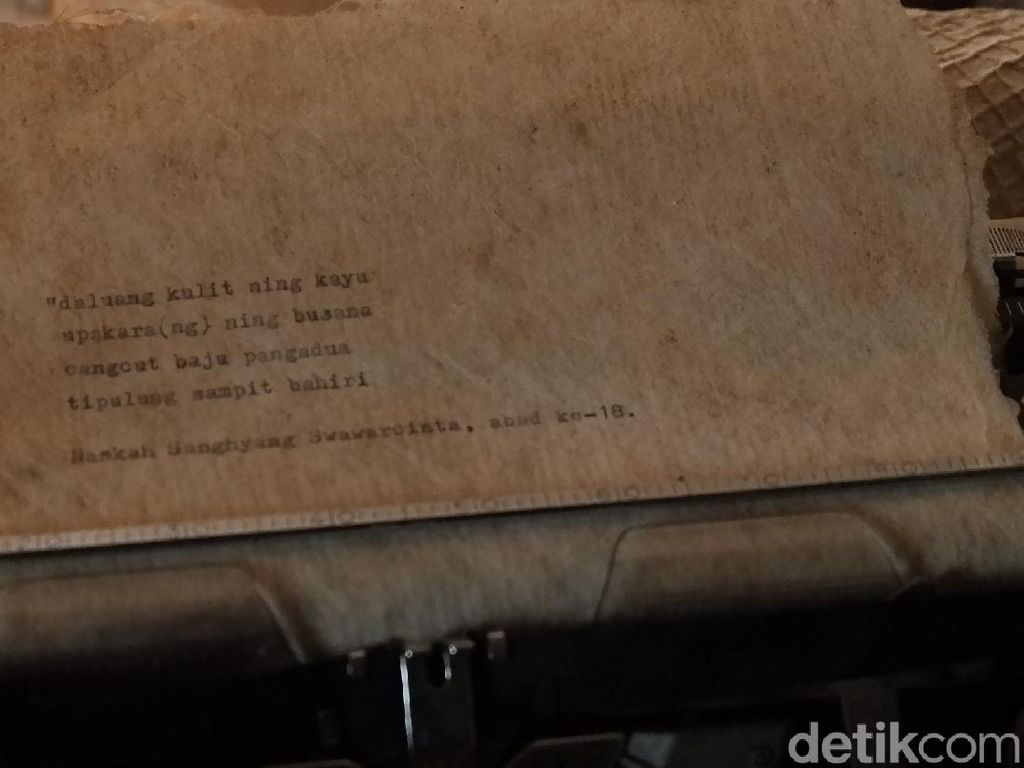 Kertas Daluang, Hanji nya Indonesia yang Dilupakan
