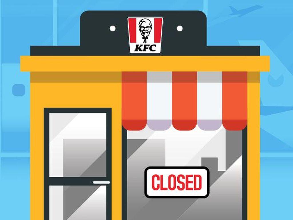 KFC Tutup 33 Gerai
