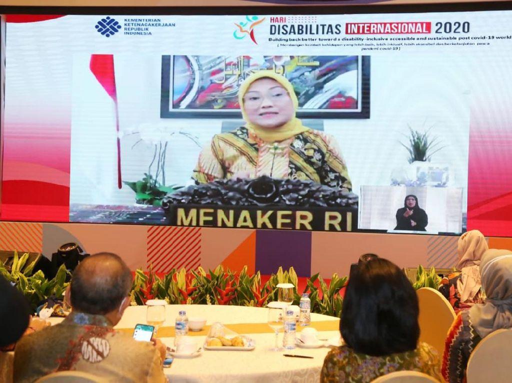 Menaker Dorong Implementasi Layanan Disabilitas di Ketenagakerjaan