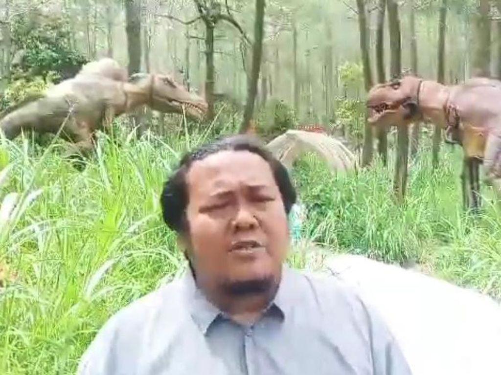 Fakta soal Dinosaurus Ngamuk di Magetan yang Viral