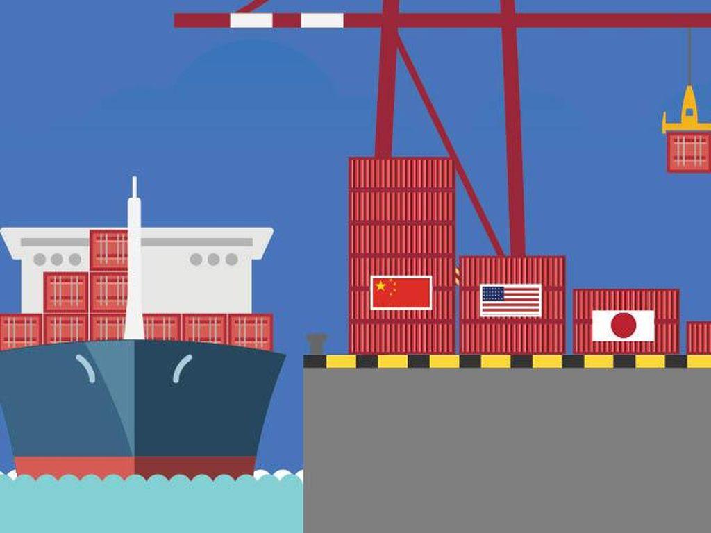 Ekspor RI Masih Didominasi Tujuan China