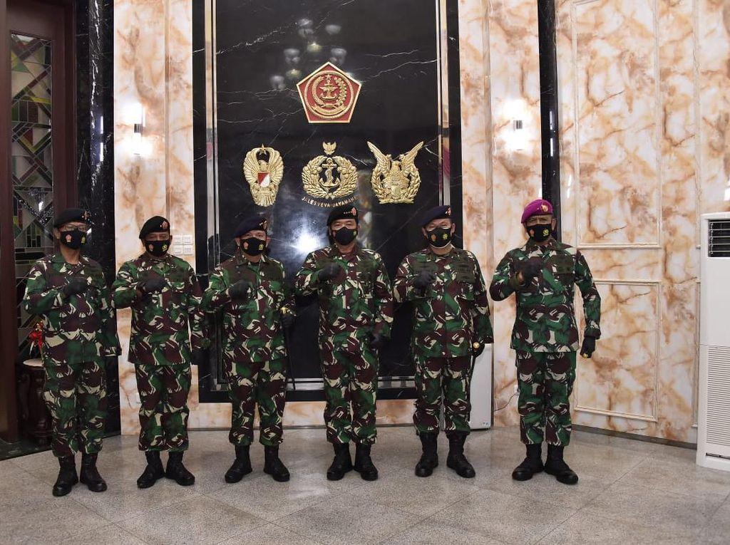 Panglima TNI Naikkan Pangkat 5 Jenderal, Ini Daftarnya