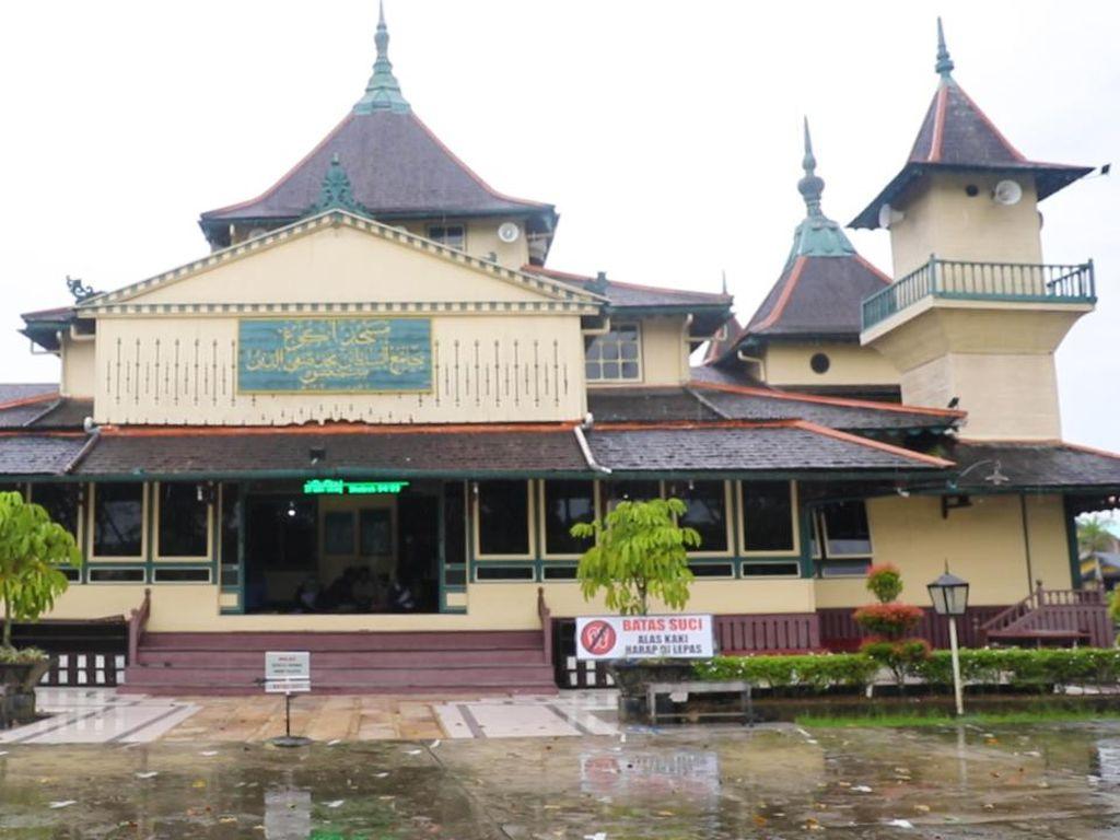 Pesona Masjid Keraton Sambas, Tertua di Kalimantan Barat