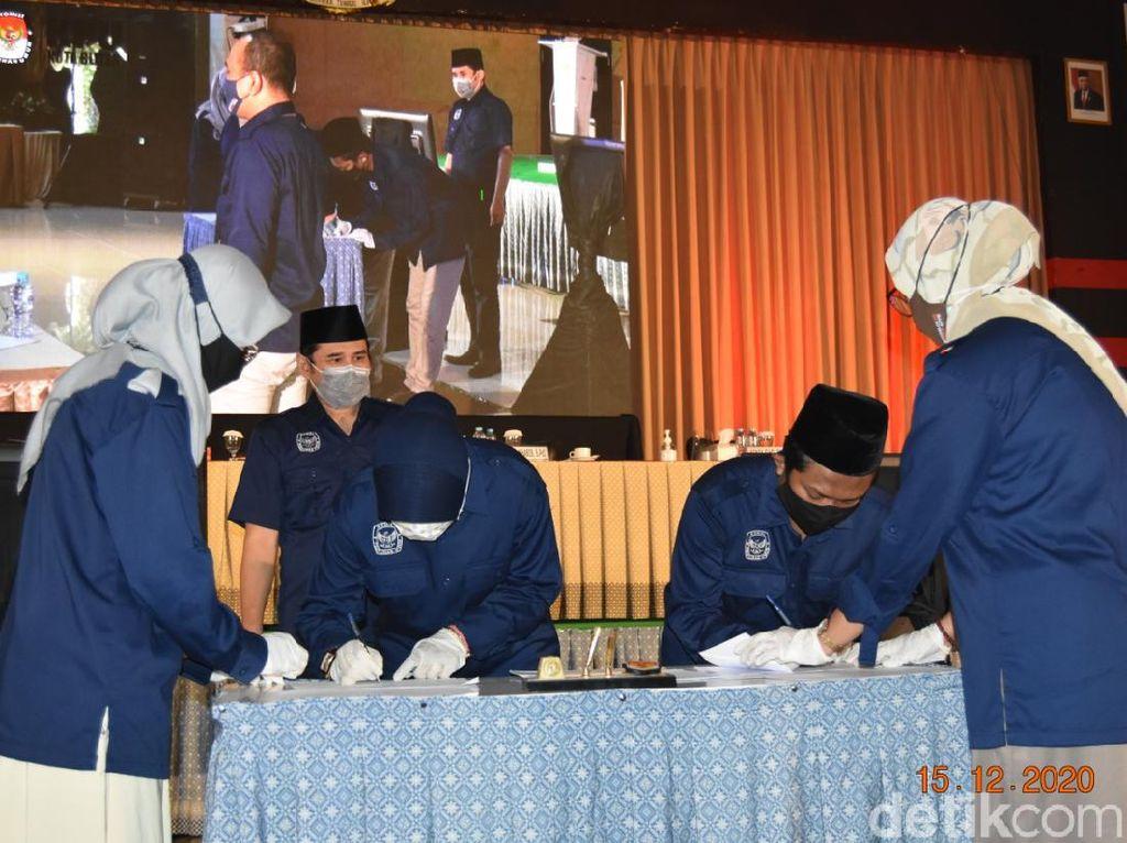 Petahana Unggul, Rekapitulasi KPU Kota Blitar Beda Tipis dengan Quick Count