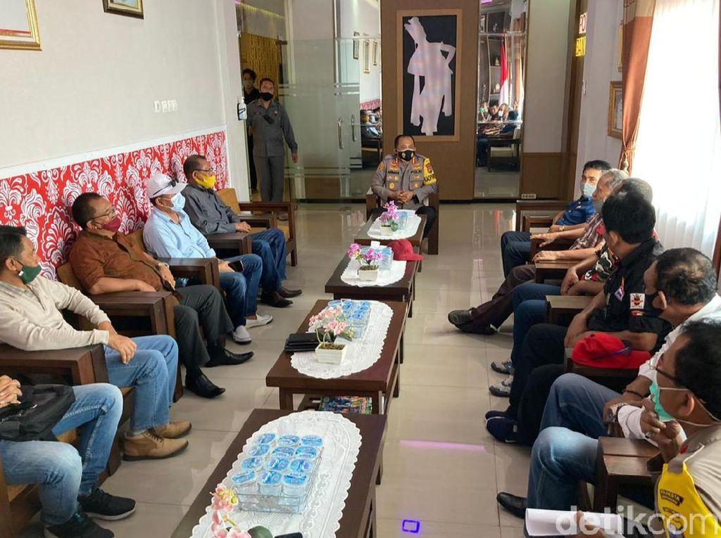 Ormas dan LSM di Banyuwangi Dukung Polri Tegakkan Supremasi Hukum