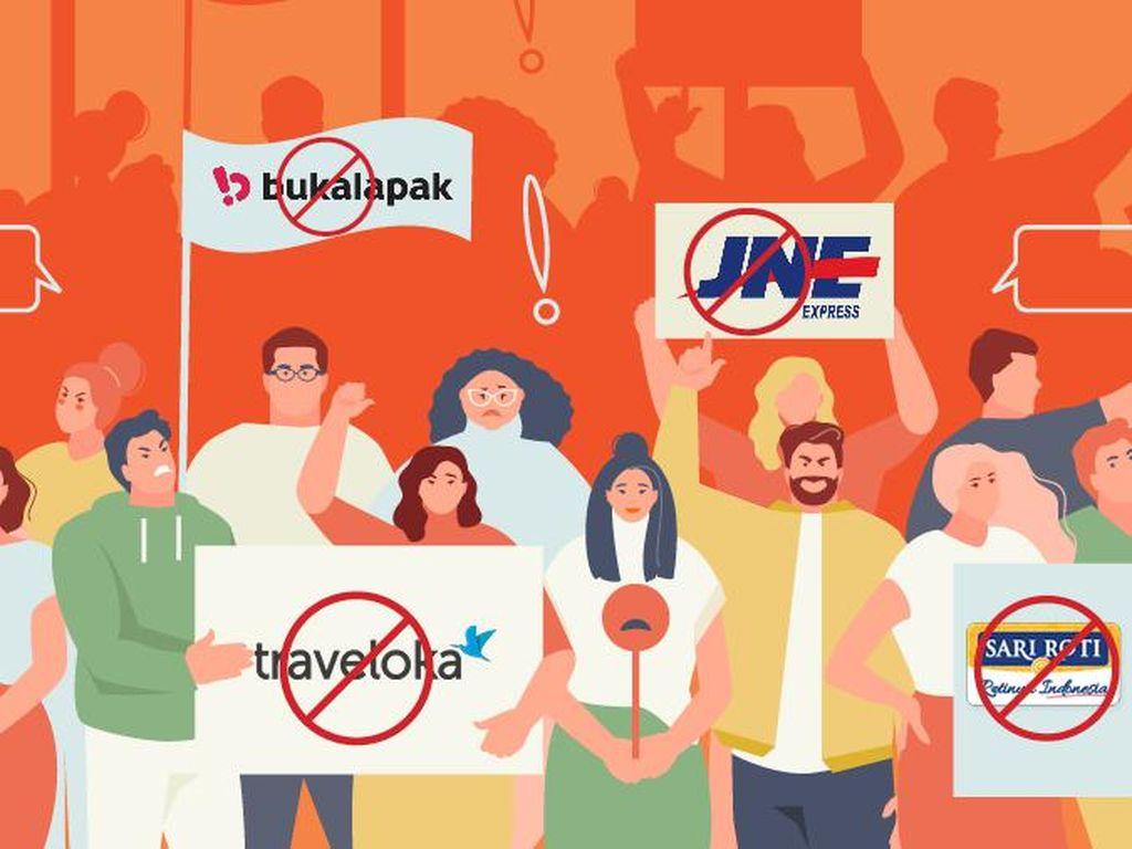 Sederet Perusahan yang Pernah Diboikot Gegara Politik