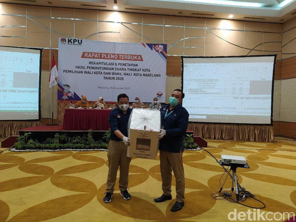 Pleno KPU Kota Magelang: Pak Dokter Menang-Anak Walkot Tumbang