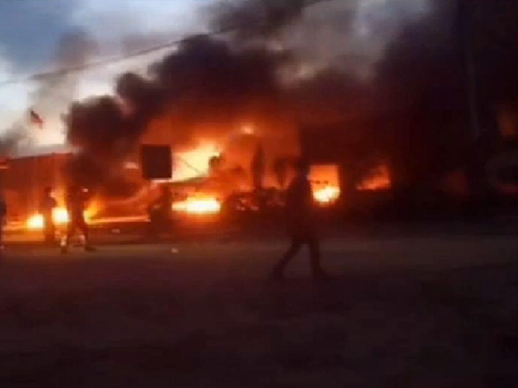 Demo Berujung Pembakaran di Smelter Nikel di Sultra, 5 Orang Ditangkap