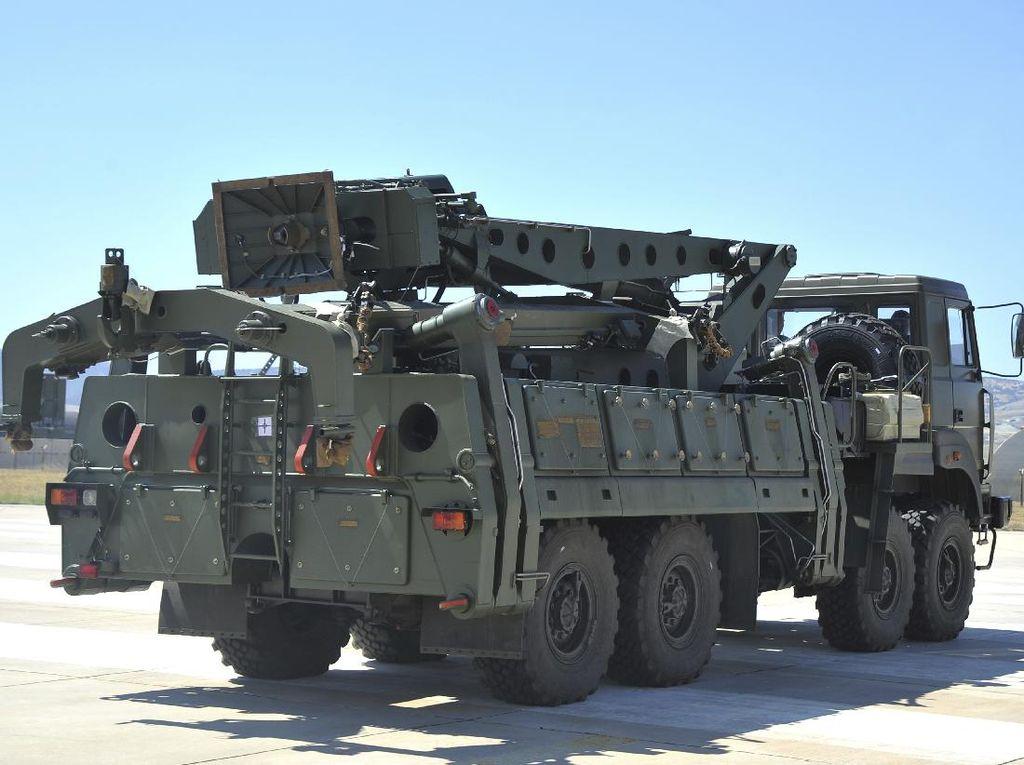 Dikenai Sanksi AS Atas Pembelian Sistem Antirudal Rusia, Turki Berang