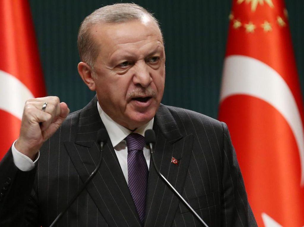 Marak Demo Penunjukan Rektor, Erdogan Sebut Demonstran Teroris