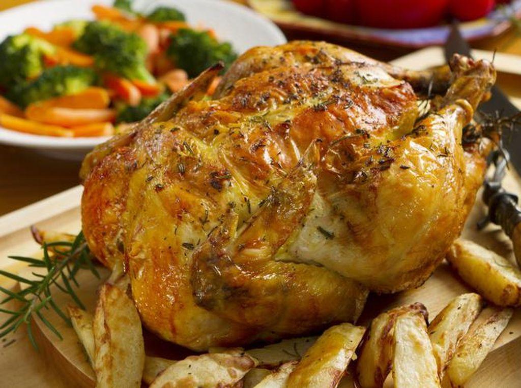 Yummy! Ayam Panggang Ini Dibuat dengan Mesin Cetak 3D