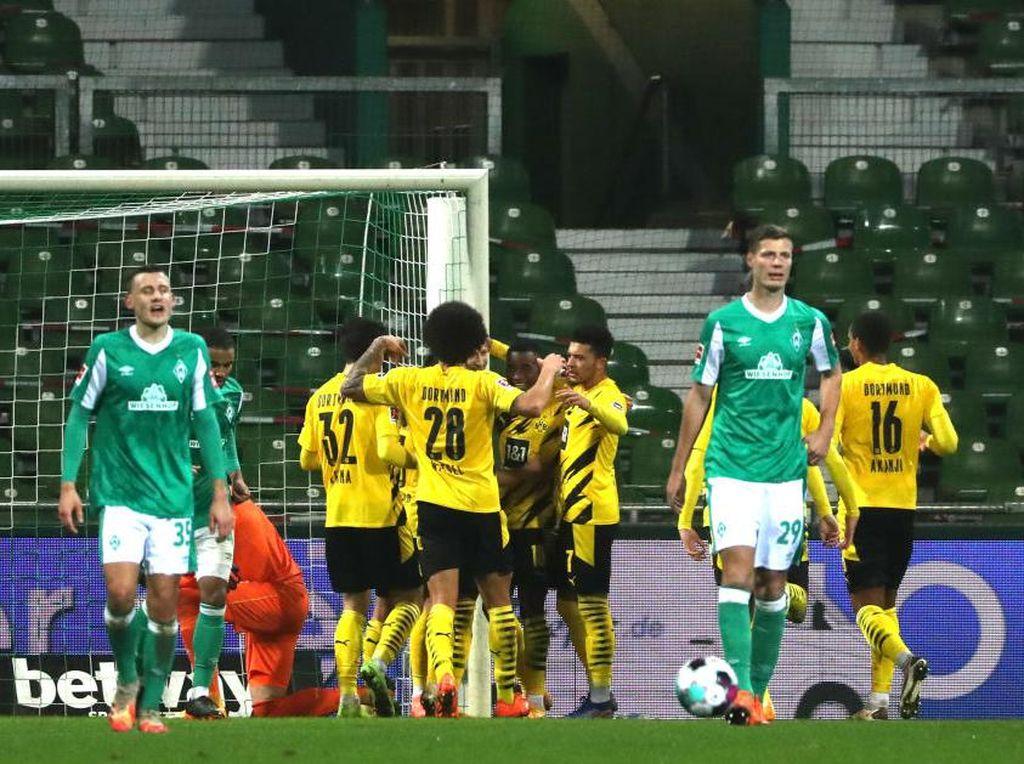 Liga Jerman: Dortmund Tundukkan Bremen 2-1