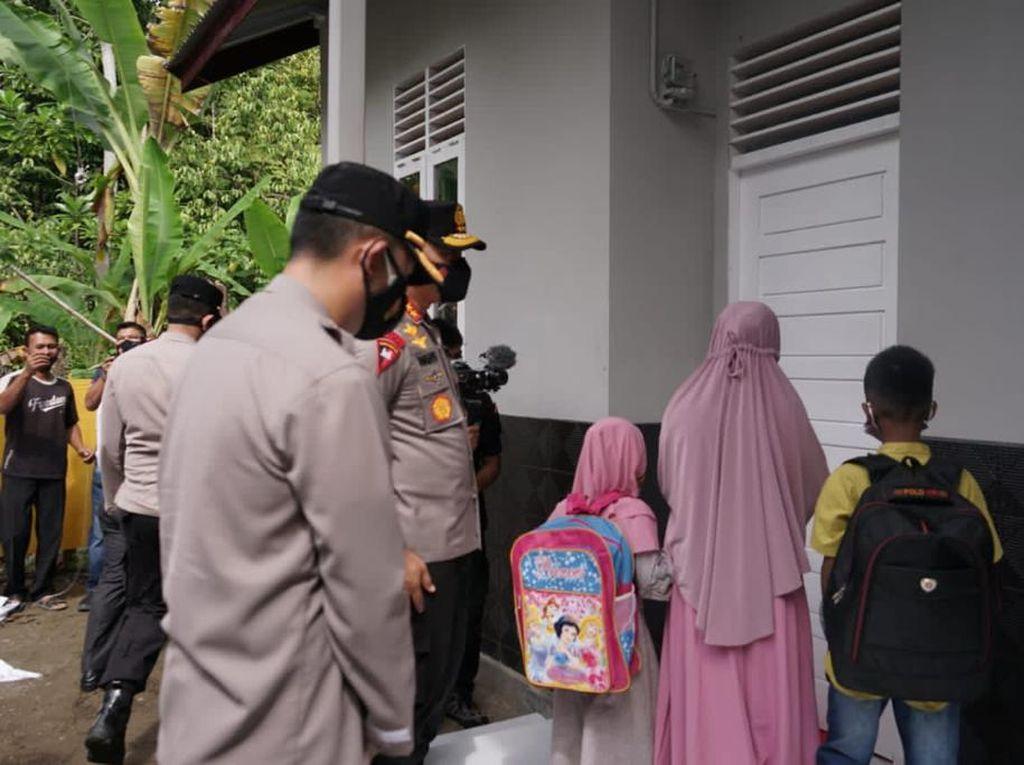 Senangnya Buruh Cuci di Aceh Saat Gubuk Lapuknya Disulap Jadi Rumah Baru