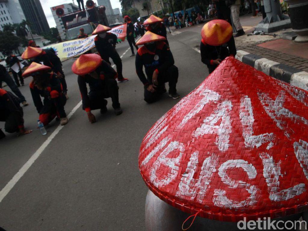 Bakal Ada Demo Buruh Besar-besaran (Lagi) Tolak Omnibus Law