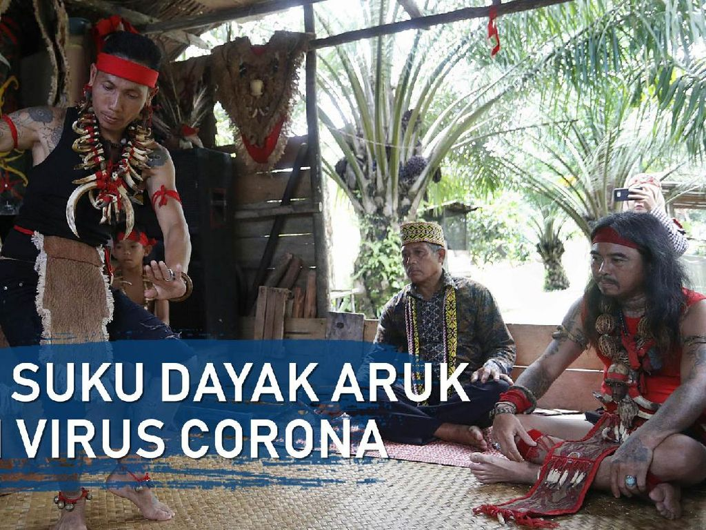 Ritual Sansam, Cara Suku Dayak Aruk Atasi Virus Corona