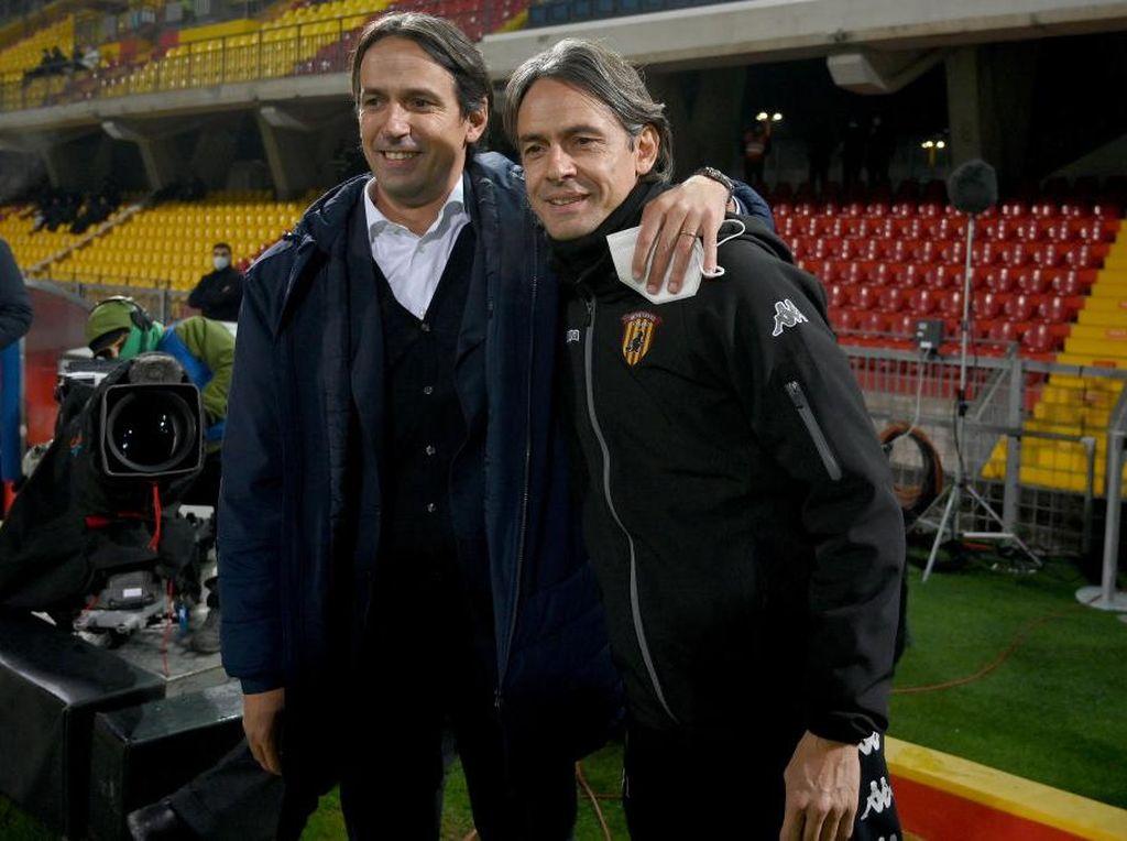 Lazio Vs Benevento: Tak Ada Pemenang dalam Duel Inzaghi Bersaudara