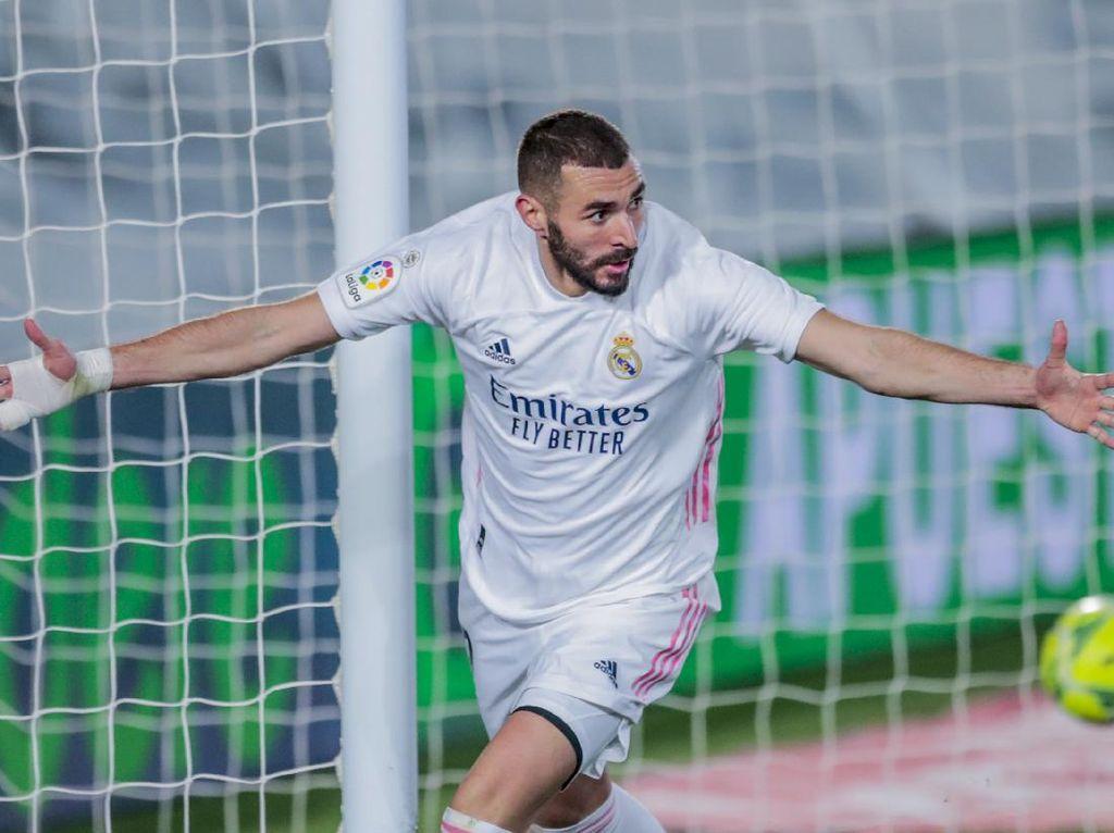 Top Skor Liga Spanyol: Karim Benzema 6 Gol, di Bawah Dua Pemain