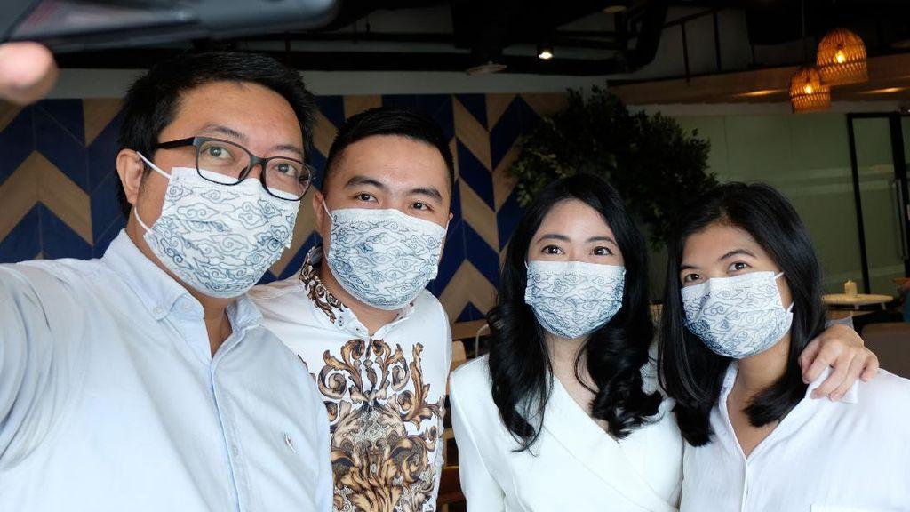Keren, Masker Medis Ini Bermotif Batik